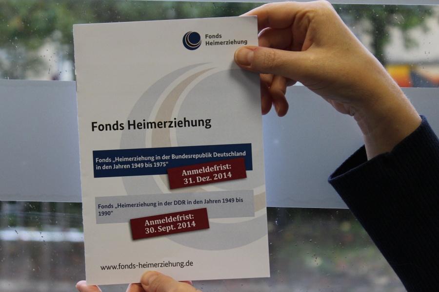 """""""Fonds Heimerziehung"""" will Hilfe und Anerkennung für Geschädigte bieten."""