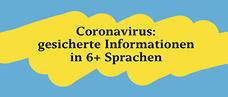 Integrationsbeauftragte: Coronavirus – in mehreren Sprachen