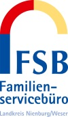 Logo Familienservicebüro©Landkreis Nienburg/Weser
