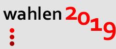 Wahlen 2019 Slider