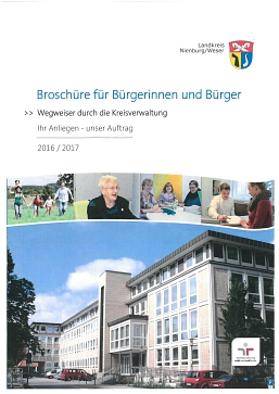 Broschüre für Bürgerinnen und Bürger 2016 © Landkreis Nienburg/Weser