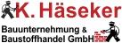 K. Häseker GmbH Bauunternehmen und Baustoffhandel